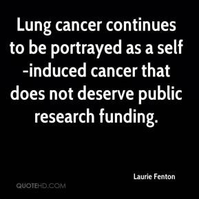Quotes About Lung Cancer