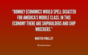 Romney economics would spell disaster for America's middle class. In ...