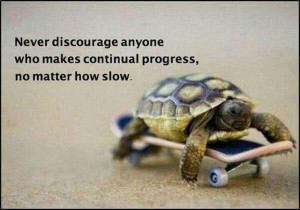 We don't have the right to discourage others, especially if they are ...