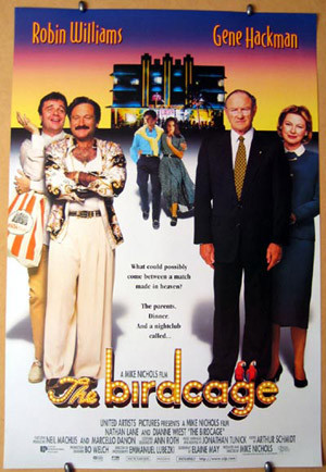 The Birdcage Starring Robin Williams and Nathan Lane