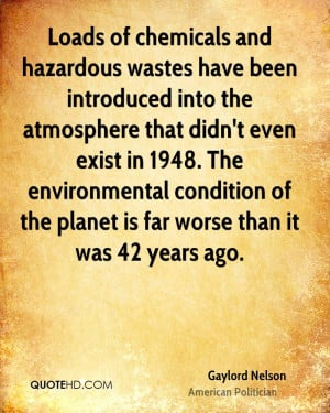 Loads of chemicals and hazardous wastes have been introduced into the ...