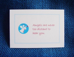 Made For An Angel 52 Little Motto Cards With Angel Quotes Blessings ...