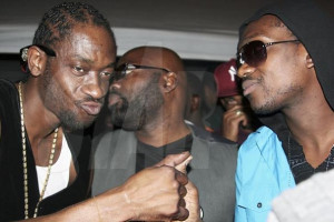 ... from the nine night for Bounty Killer's late mother, Miss Ivy