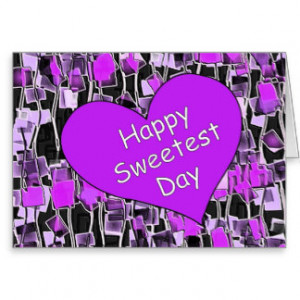 Sweetest Day Cards And More