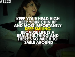 beautiful quotes on smiles about life