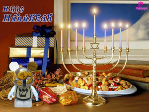 Just as Hanukkah candles are lighted one by one from a single flame ...