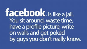 facebook, funny, jail, quote, quotes, words