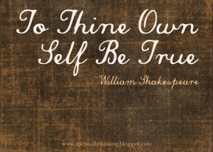 wise words from William Shakespeare, Hamlet