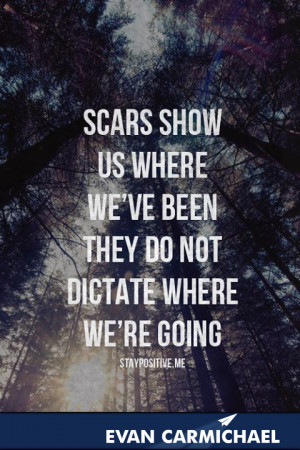 ... show us where we've been, they do not dictate where we're going