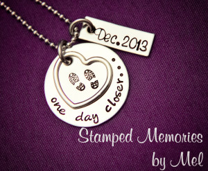 Military Wife Quotes About Deployment Hand stamped deployment