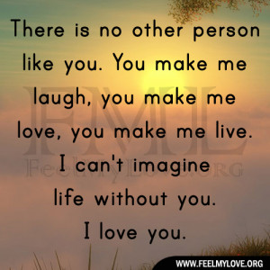 Cant Live Without You Quotes I can't imagine life without