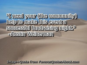 Need Your Help To Make This Event A Successful Fundraising Night ...