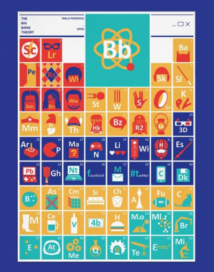 Big Bang Theory Periodic Table