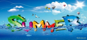 Summer vacation facebook photo cover