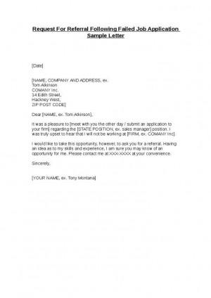 Job application letter for bank employee