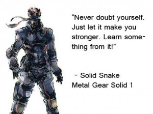 Metal Gear Solid Quote