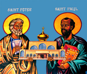 Did St. Paul and St. Peter Fake a Fight?