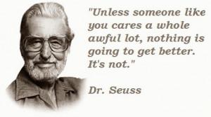 Post Title : Dr. Seuss Quotes