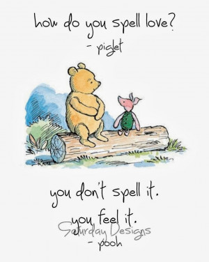 The Winnie the Pooh and Piglet friendship is beautiful. They are so ...