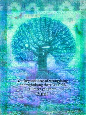 goldenslipper › Portfolio › Rumi Friendship Peace Quote