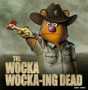 Fozzie Bear as Sheriff Rick