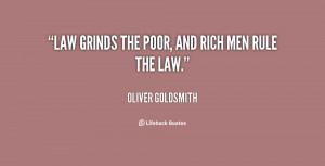 Poor And Rich Men Rule...