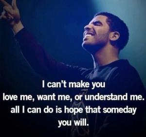 drake, quotes love