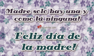 Mothers Day Quotes In Spanish ~ Early Top 85 Short Happy Mother ...