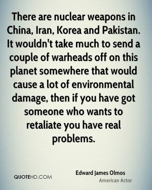 Edward James Olmos Environmental Quotes