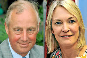 Tim Yeo and Margot James