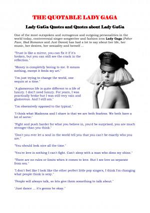 image description for lady gaga quotes wallpaper lady gaga quotes ...