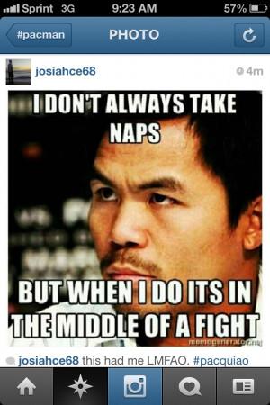 Manny Pacquiao Simba Meme