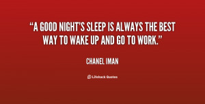 Sleep Is Good Quotes Preview quote