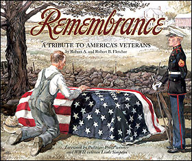remembrance a tribute to america s veterans is a 152 page hardcover ...