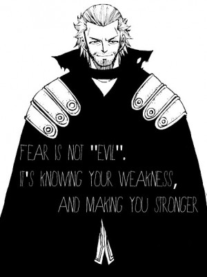 fairy tail, gildarts, quote