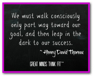 Must Walk Consciously Only...