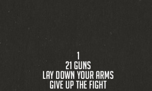quote Black and White text song lyrics Band Green Day 21 guns