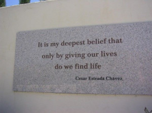 quotes cesar chavez | Cesar Chavez quote
