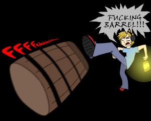 Pewdiepie Traitor Barrels...