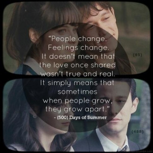 ... days of summer, love, love quote, movie, movie quotes, quote, quotes