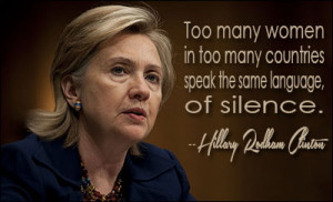 HILLARY RODHAM CLINTON QUOTES