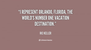 represent Orlando, Florida, the world's number one vacation ...