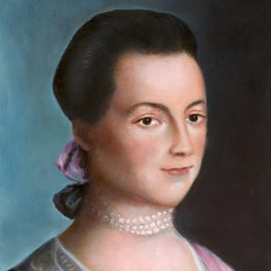Photograph of Abigail Adams.