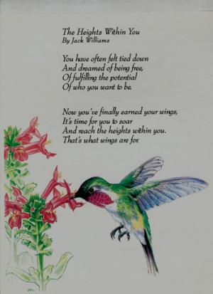 Hummingbird Poems
