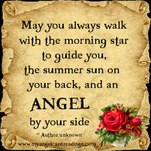 May You Always Walk With The Morning Star To Guide You, The Summer Sun ...