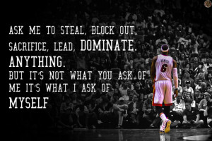 LeBron James Quote Wallpaper by tommyven