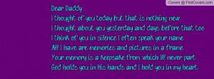 Dear Daddy Profile Facebook Covers