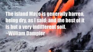 William Dampier Quotes