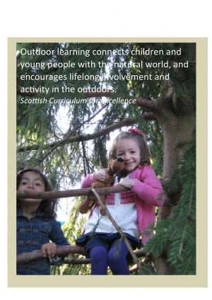 Posters to promote outdoor learning - some powerful quotes