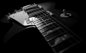 ... les paul guitar hd guitar music desktop black and white gibson les